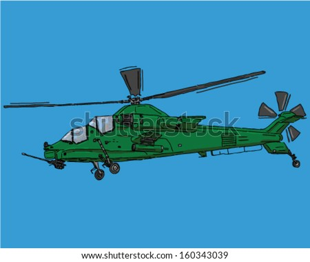 attach helicopter flying army
