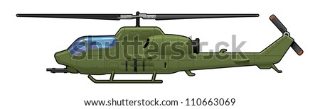 attack helicopter simple