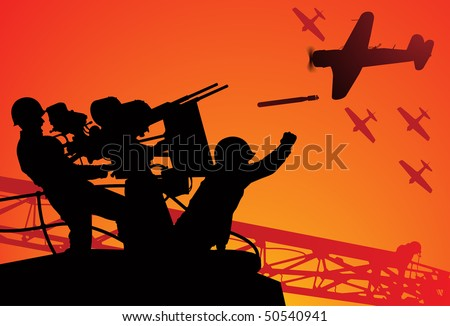 attack on pearl harbor vector
