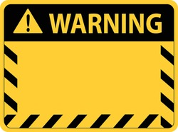 Attention caution sign,warning,danger stock vector illustration