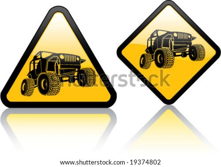 Attention Jeep / Off-road Vehicle