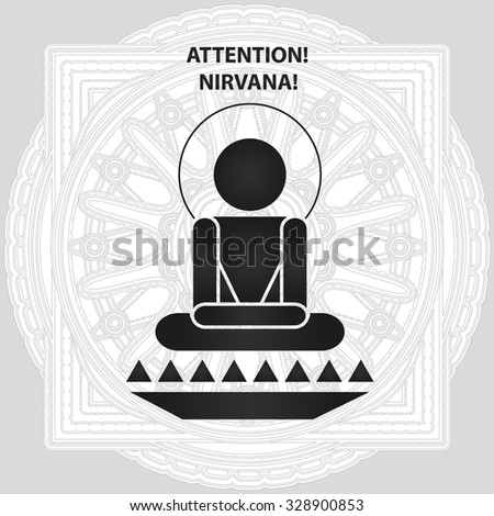 attention  nirvana   buddhistic