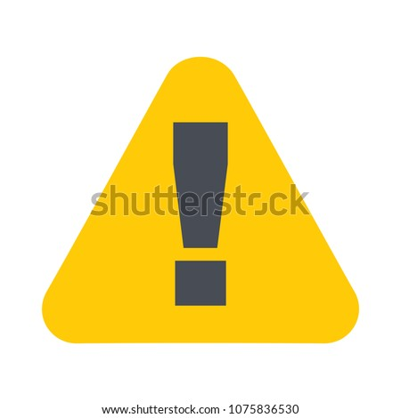 attention sign   caution alert