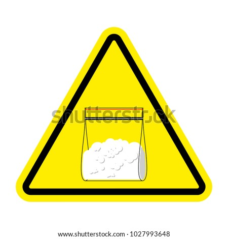 attention sign drugs cocaine
