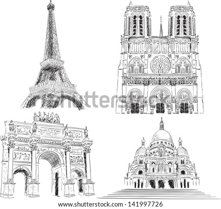 attractions of paris  france