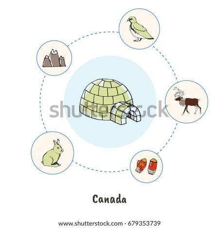 attractive canada ice igloo