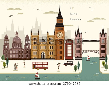attractive london travel