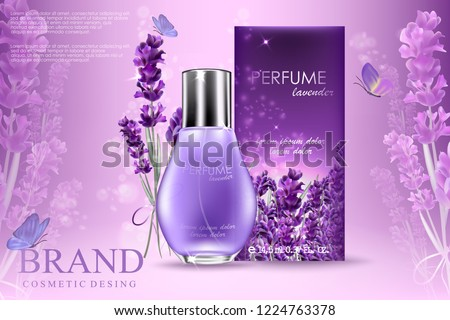 attractive perfume or cosmetic
