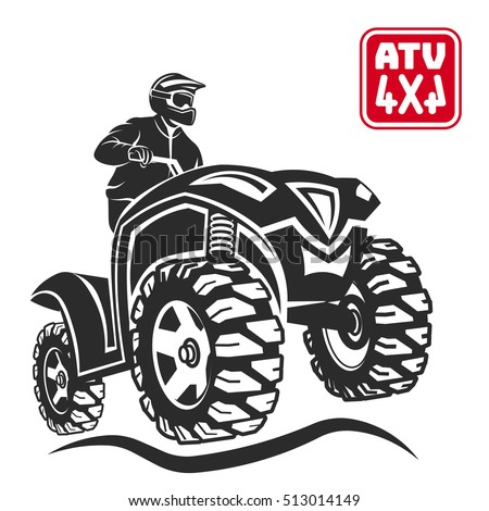 atv all terrain vehicle off
