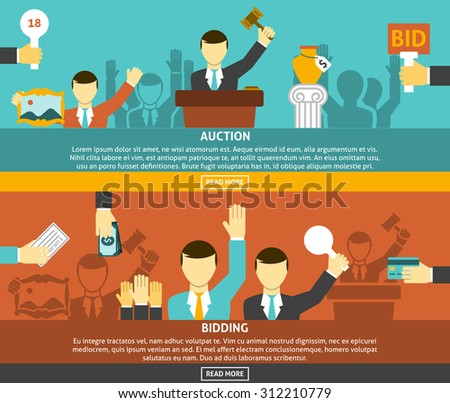 auction and bidding horizontal
