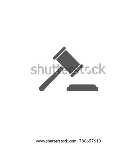 auction or judge icon,vector illustration,eps10