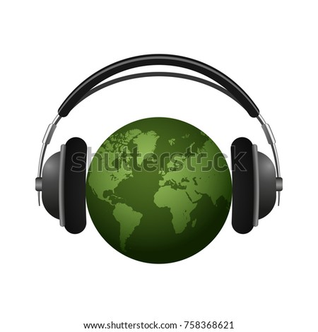 audio background earth with