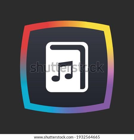 Audio Book - App Icon Button