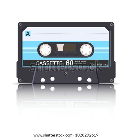 Audio cassette - 60. Compact cassette.