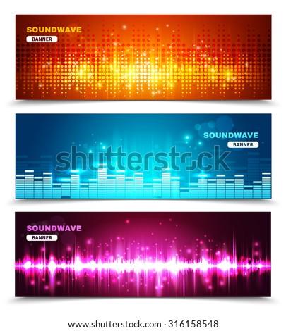 audio equalizer sound wave
