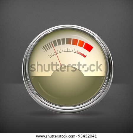 Audio Gauge, vector