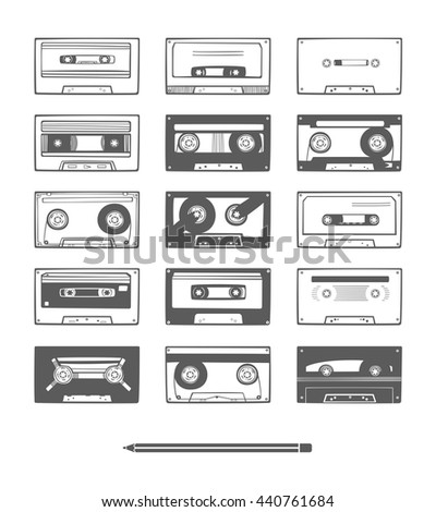 Audio tapes set