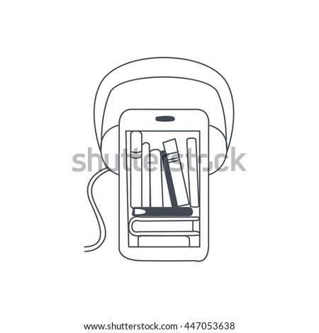 Audio Translation Smartphone App Stockfoto ©
