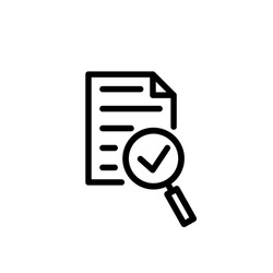 audit icon vector