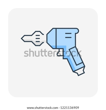 Auger Drill Vector - Download Free Vector Art, Stock Graphics & Images