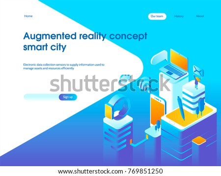 augmented reality concept