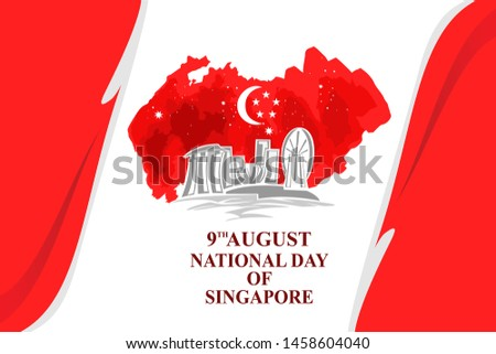 august 9  singapore national