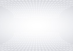 aura abstract background. Grey and white dots style