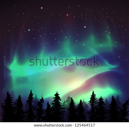 aurora borealis background