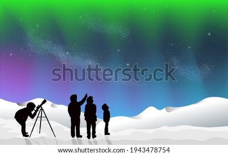 aurora borealis stargazing