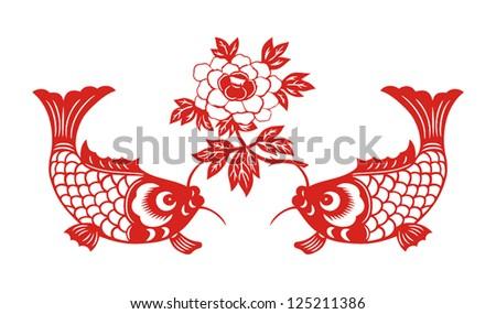 Chinese New Year Fish Symbol Chinese New Year Spring