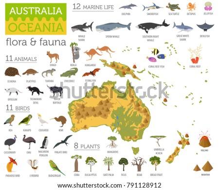 australia and oceania flora and