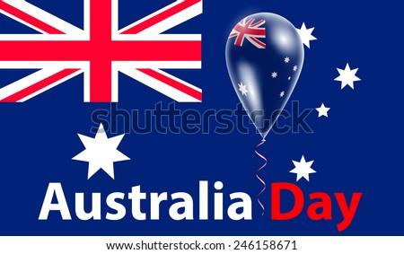 australia day flag of