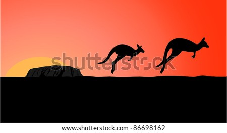 australia view at early morning