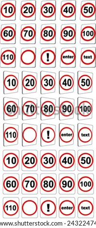 western australia how to tell speed limits