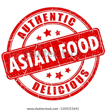 authentic and delicious asian