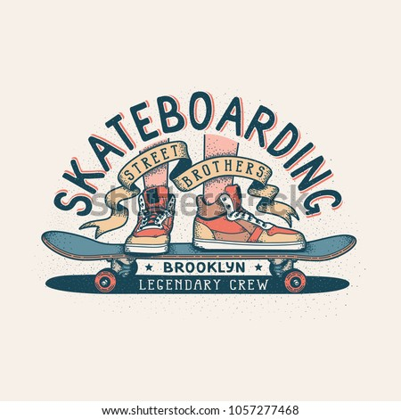 authentic skateboarding vintage