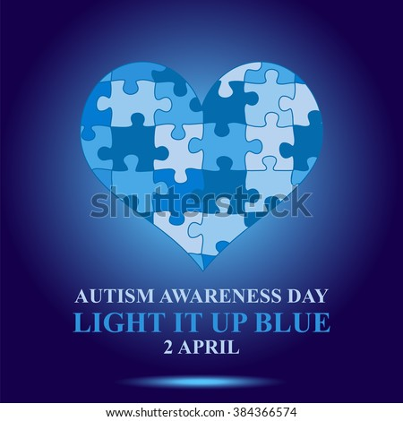 autism awareness day concept