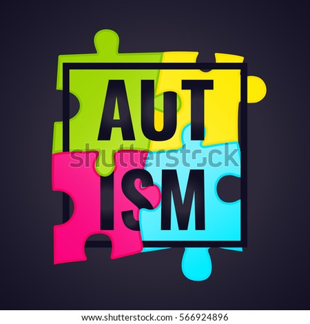 autism awareness poster with