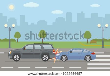 auto accident involving two