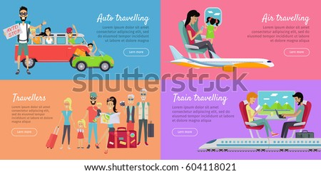 auto  air  train travelling and