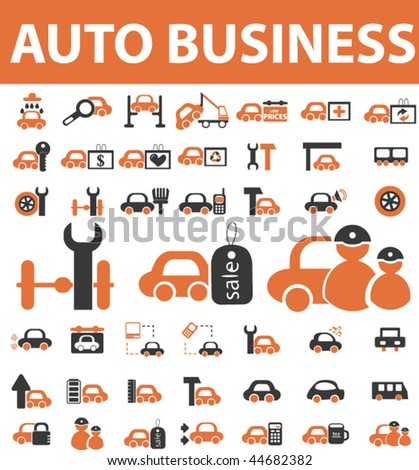 auto business vector