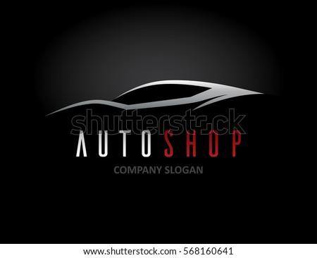 auto car dealer logo design
