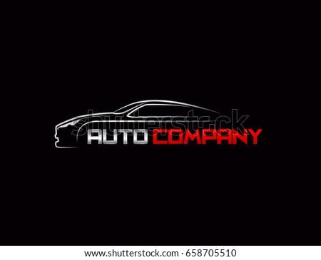 Auto Logo Vector Illustration Ez Canvas