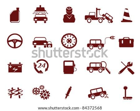 Auto Car Service Icon