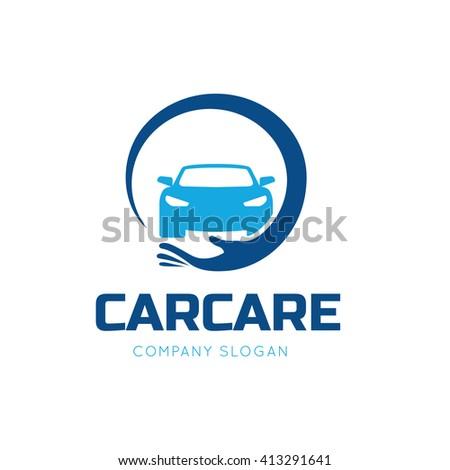 Auto Care logo.Car logo.