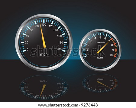 Auto Dashboard Gauges With