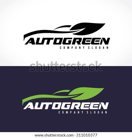 auto green logo automotive car