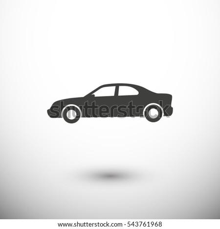 auto icon. One of set web icons
