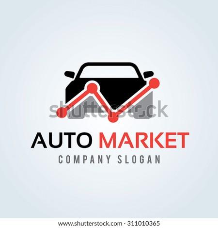 auto marketing logo auto market
