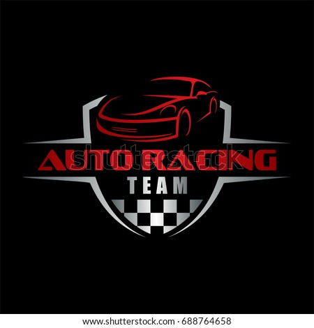 auto racing team, car logo
